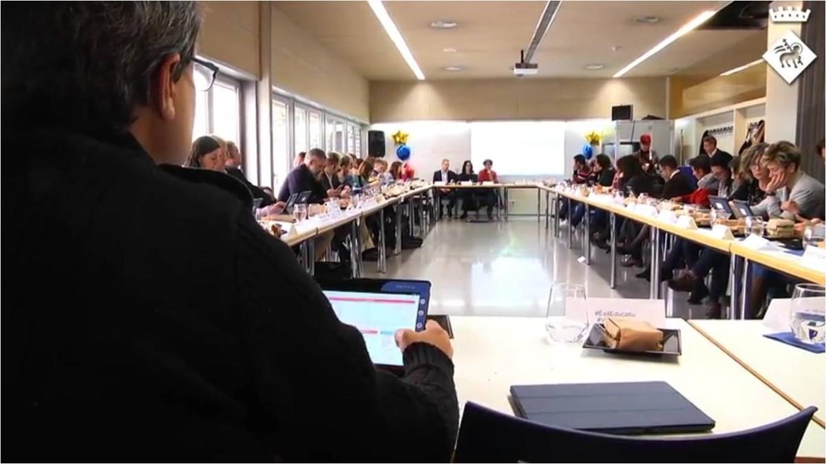 Jornada tècnica de presentacióde les conclusions del projecte europeuIMAILE a Viladecans.