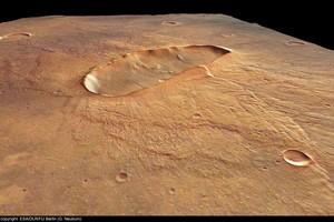 Imatge de la superfície del planeta vermell.