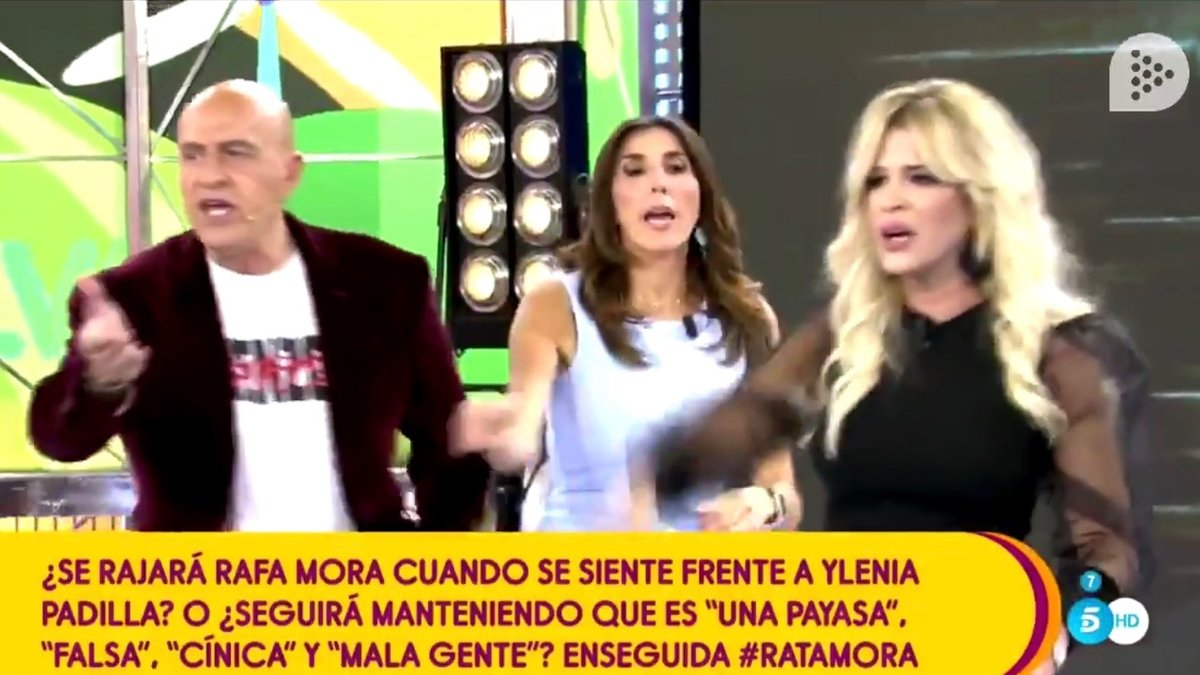 Ylenia y Kiko Matamoros protagonizan una de las broncas más heavys de 'Sálvame' con manotazo incluido
