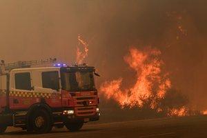 El accidente tuvo lugar poco después de que las autoridades de Nueva Gales del Sur declararan el estado de emergencia.