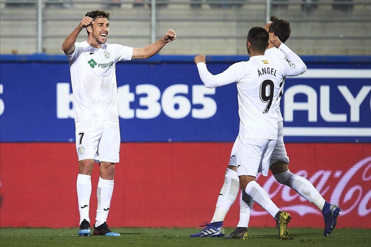 Jaime Mata, debutante en Primera, se ha convertido en uno de los máximos anotadores del Getafe