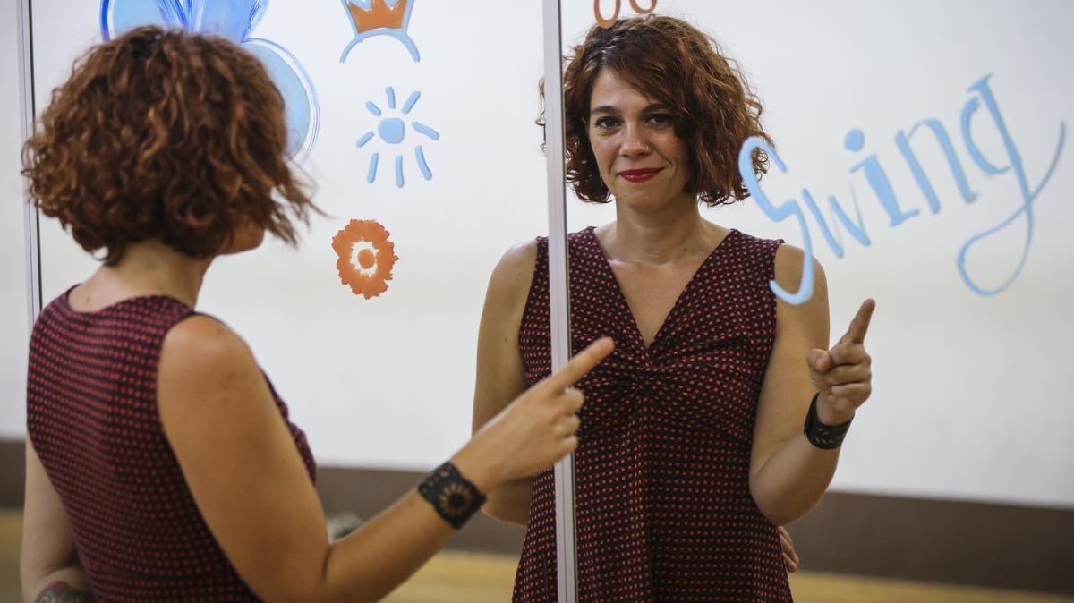"""Cristina Sánchez: """"En el swing animo a las chicas a llevar rol de líder"""""""