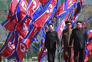 Kim Jong-un, este jueves en un acto oficial en Pionyang.