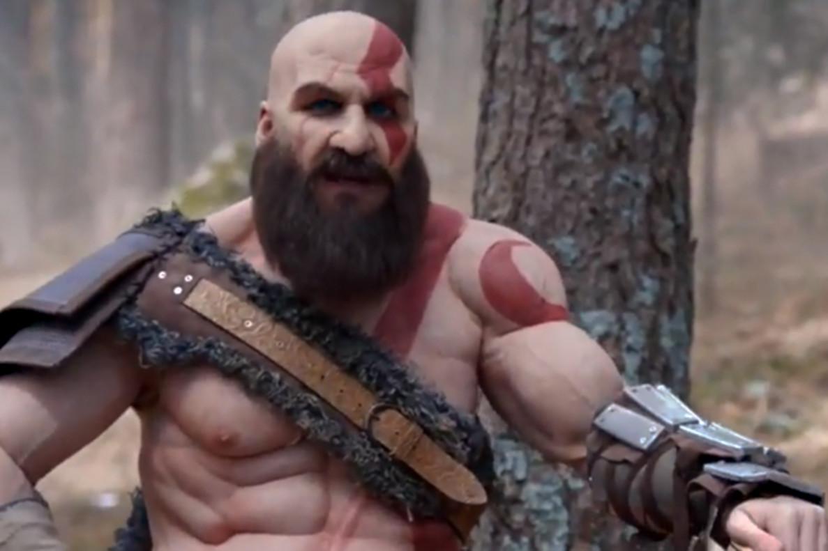 La última parodia de Joaquín Reyes: promociona 'God of War' convertido en Kratos