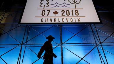 La cumbre del G-7 se enloda por la guerra arancelaria