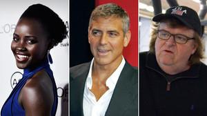 Lupita nyongo, George Clooney y Michael Moore también han protestado por la falta de diversidad racial de los Oscar.