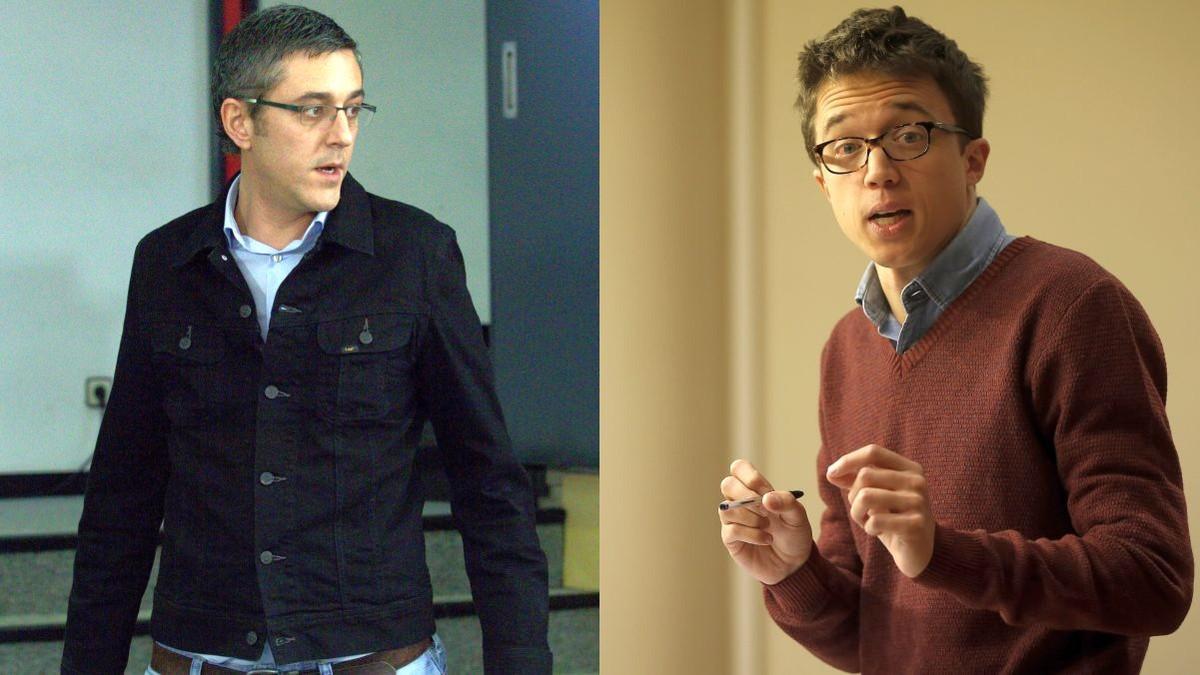Eduardo Madina e Iñigo Errejón, protagonistas del debate de Salvados en La Sexta.