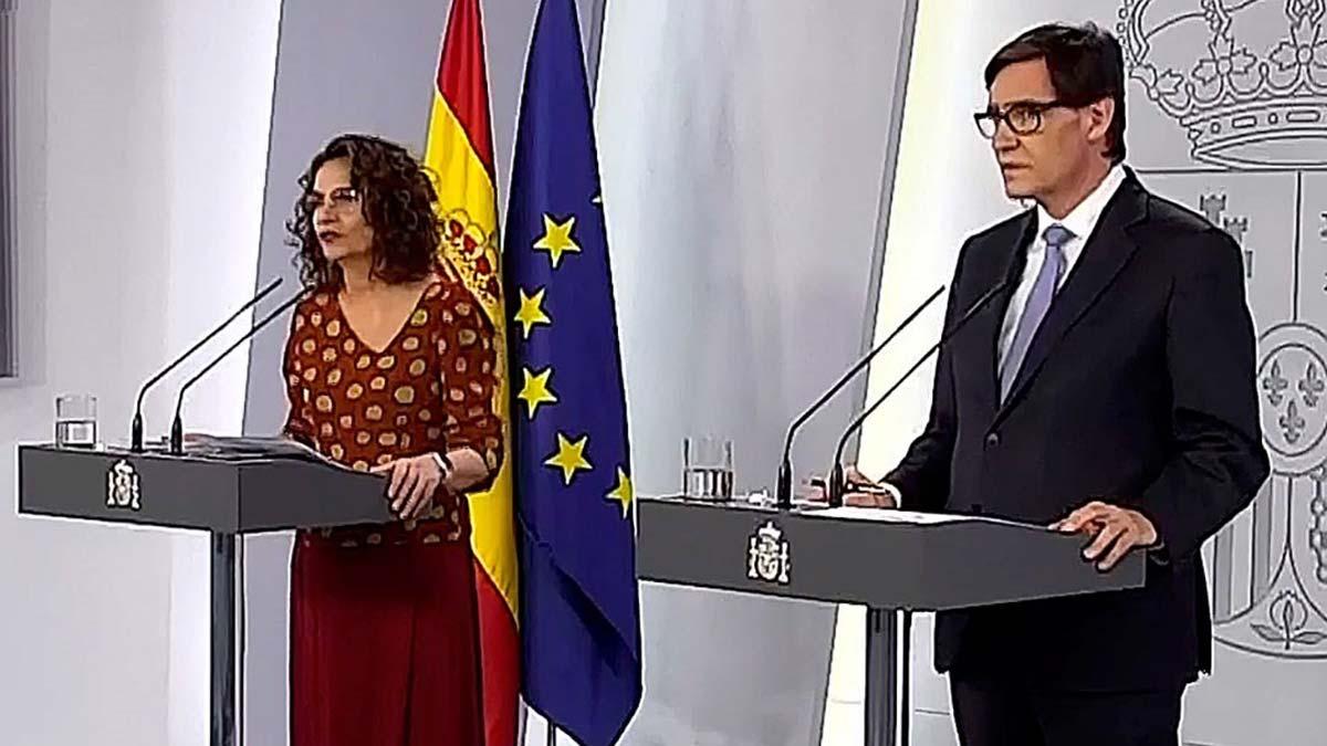 El ministro de Sanidad, Salvador Illa, ha anunciado que la Comunidad de Madrid va a pasar finalmente a la fase 1 del plan de desescalada por el coronavirus a partir del próximo lunes, como también el área metropolitana de Barcelona y las zonas pendientes de progresar de Castilla y León.
