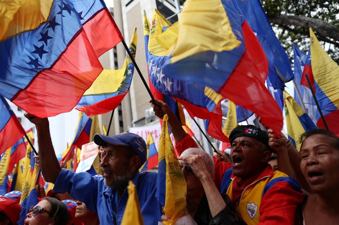 Maduro llamó a manifestaciones en todas las ciudades de Venezuela y del mundo.