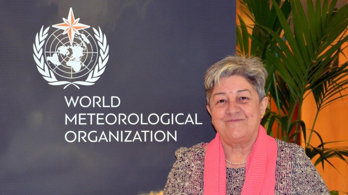 Manola Brunet, profesora de la UniversitatRovira i Virgili (URV), en Tarragona, y nueva presidenta de la Comisión Internacional de Climatología de laOrganización Meteorológica Mundial (OMM).