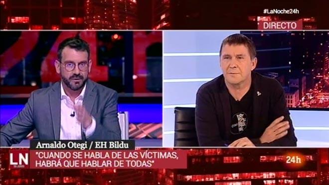 Marc Sala entrevistó a Arnaldo Otegi (TVE).