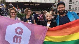 Marcha del orgullo gay celebrada en Varsovia en el 2019.