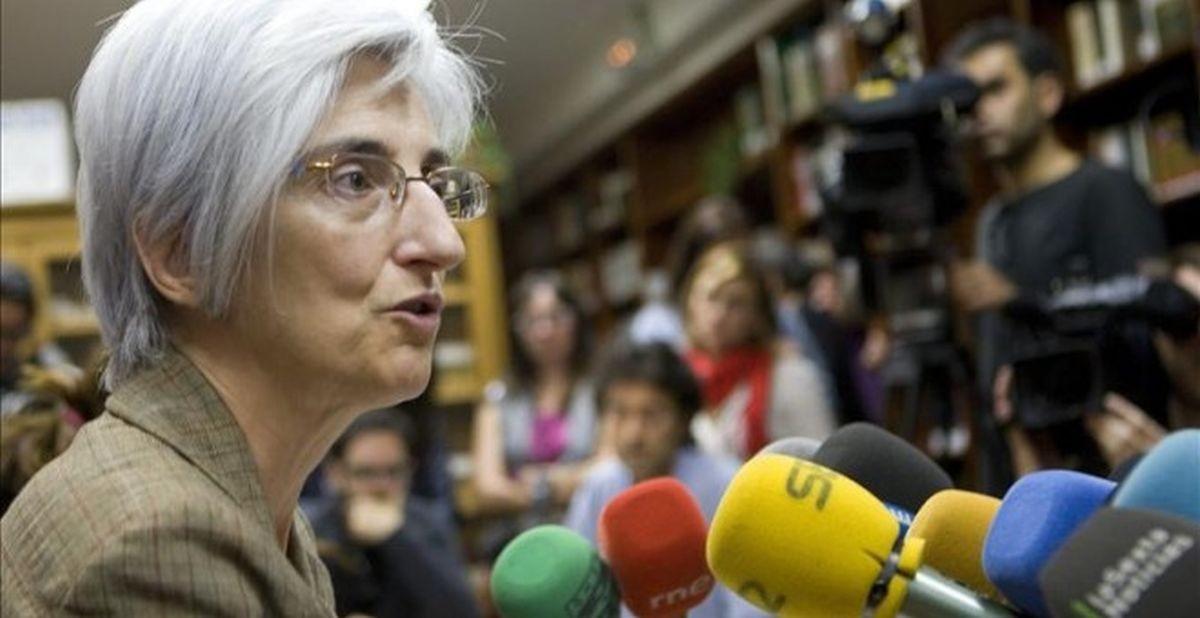 María José Segarra, en una imagen de archivo.