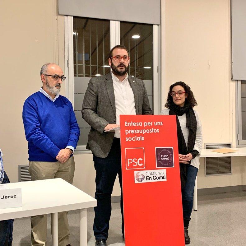 El PSC oferirà a En Comú Podem governar junts a Mataró