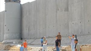 El nou mur d'Israel