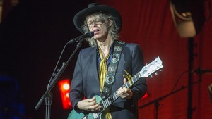 Mike Scott, en el concierto de The Waterboys en la sala Barts