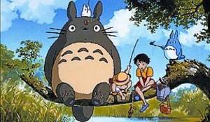 Fotograma deMi vecino Totoro, popular filme deHayao Miyazaki.