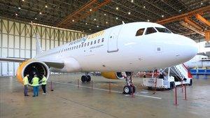 El nuevo A320 neo de Vueling.
