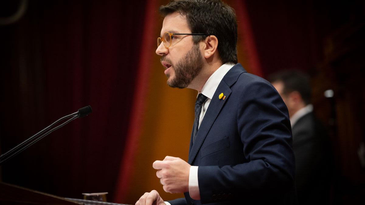 Pere Aragonès pide no alargar en exceso la legislatura.