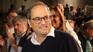 Acto de presentación de las listas de Junts per Catalunya para el 10-N.