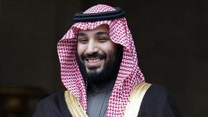 El príncipe saudí Mohammed bin Salman.