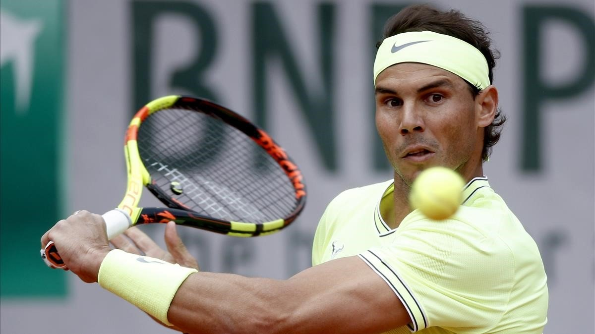 Rafa Nadal hace su presentación en Roland Garros ante el alemán Yannick Hanfmann.