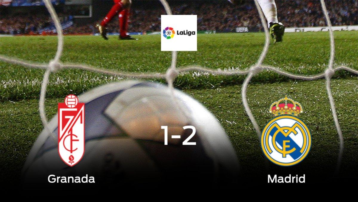 El Real Madrid vence al Granada en el Nuevo Los Cármenes (1-2)