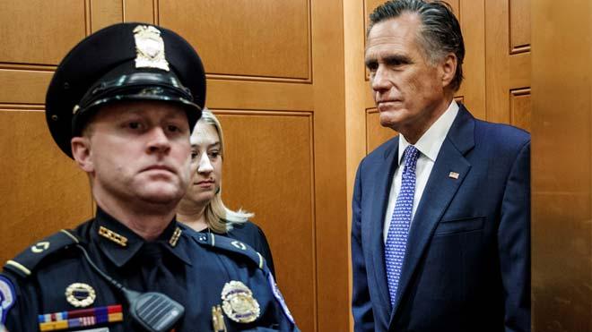 Romney, l'únic republicà que va votar contra Trump a l''impeachment'