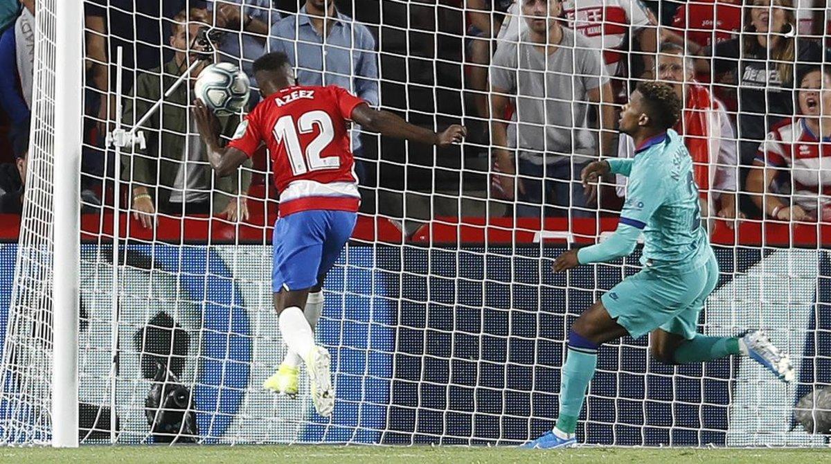 El Barça s'enfonsa