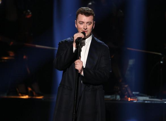 Sam Smith, durante una actuación en la gala de los American Music Awards, el pasado 23 de noviembre en Los Ángeles.