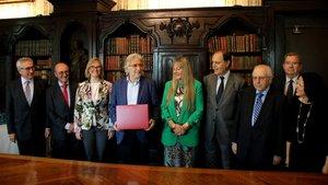 Sánchez Llibre presenta 1.000 avals per presidir Foment