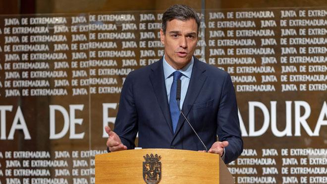 Sánchez: El señor Torraesel nuevo Le Pen de la política española
