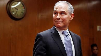 Dimite el jefe de la Agencia de Protección Medioambiental de EE UU