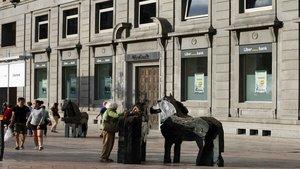 Sucursal principalde Liberbank en la ciudad deOviedo