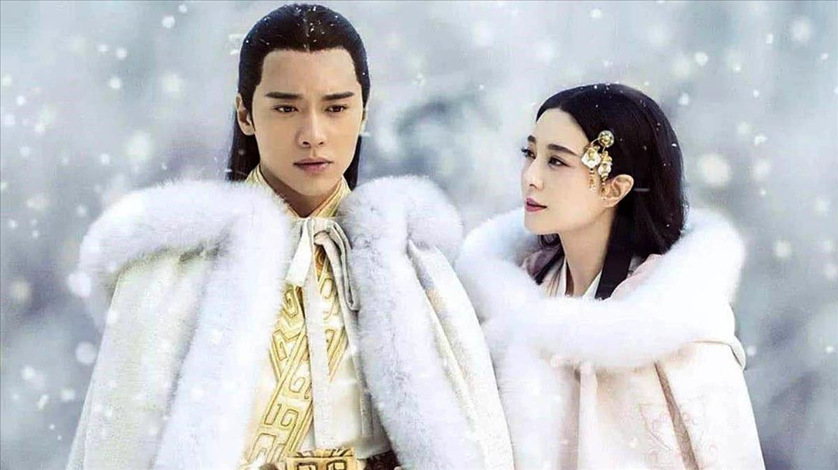 La serie China 'The legend of Ba Qing', con los actores protagonistas, Fa Bingbing y Gao Yunxiang.