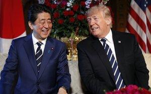 El diálogo entre Trump y Abe se produjo después de que en una rueda de prensa en la Casa Blanca.