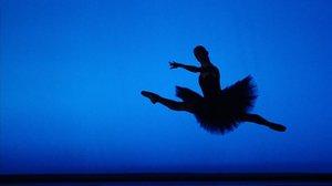 Una bailarina del Ballet de Viena, durante una representación.