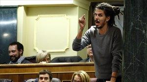 El Suprem investigarà el secretari d'Organització de Podem per atemptat contra l'autoritat