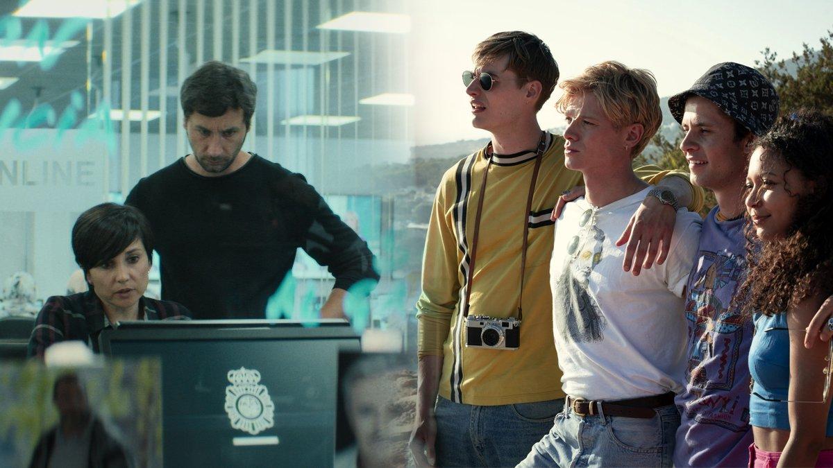 'White Lines', del creador de 'La Casa de Papel', y otras series de estreno para el fin de semana