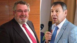 Víctor Terradellas, izquierda, y Serguéi Markov.