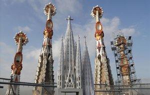 La Sagrada Família de Barcelona, en el 2017.