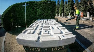 La tumba de Ildefons Cerdà