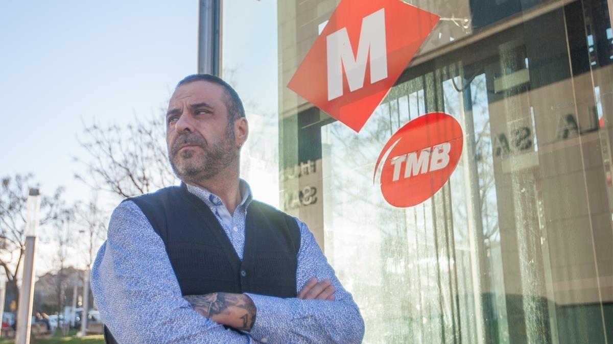 Javier García, el conductor de metro que ha vivido ocho arrollamientos de personas que se tiraron a la vía.