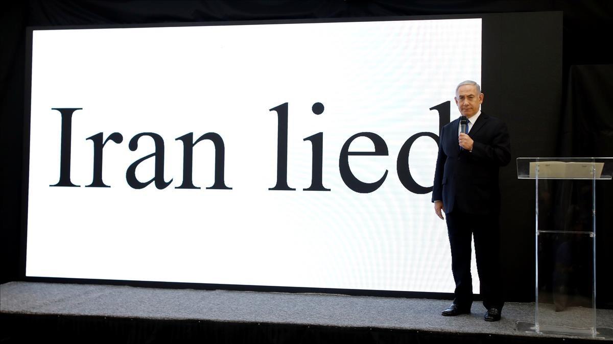 Netanyahu asegura que Irán miente.
