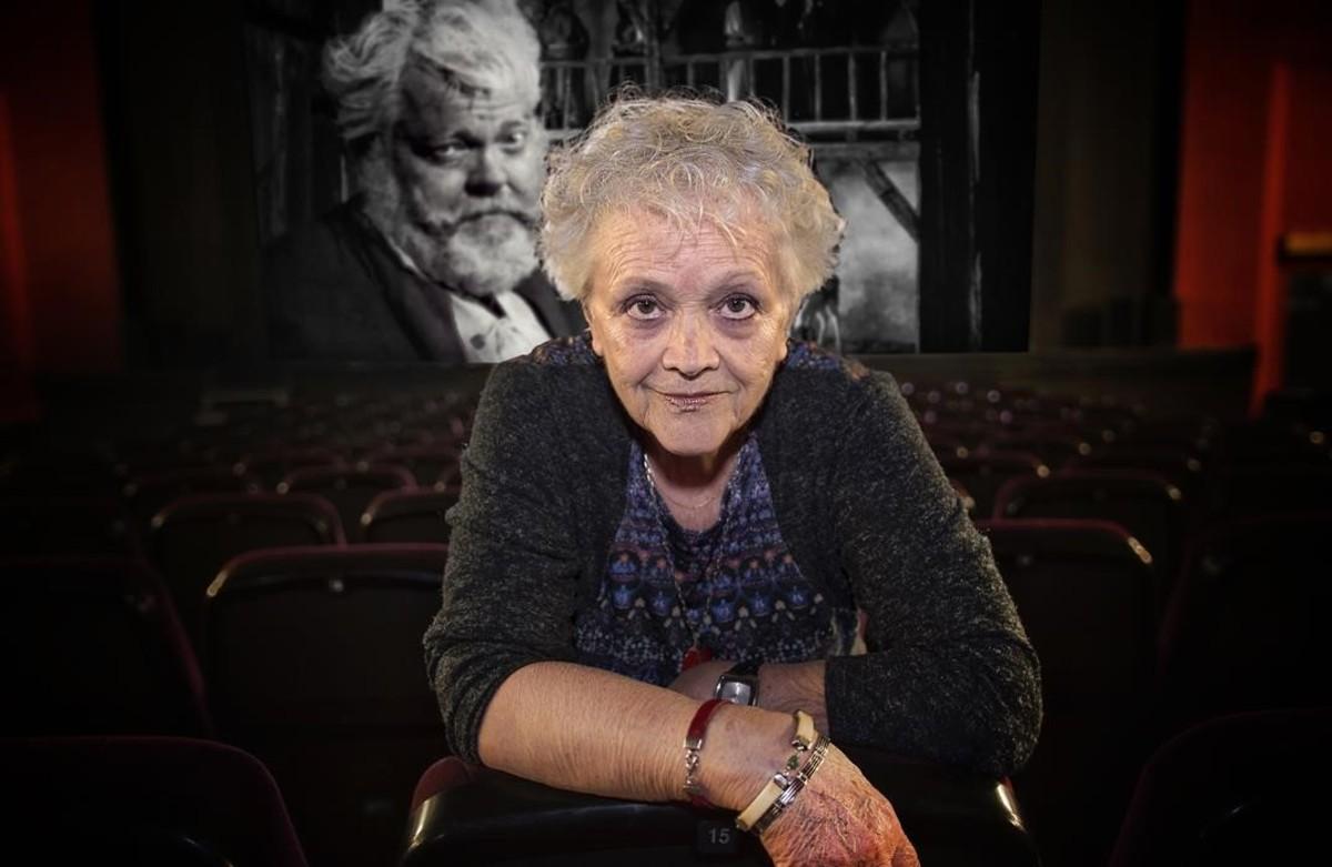 """Elena Jaumandreu: """"Orson Welles quiso llevarme a rodar 'Don Quijote' por el mundo"""""""