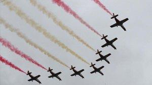 La Patrulla Águila estudia el seu futur després de perdre en sis mesos els seus dos pilots experts en les piruetes més extremes