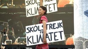 La activista Greta Thunberg, el pasado 20 de septiembre en Nueva York.