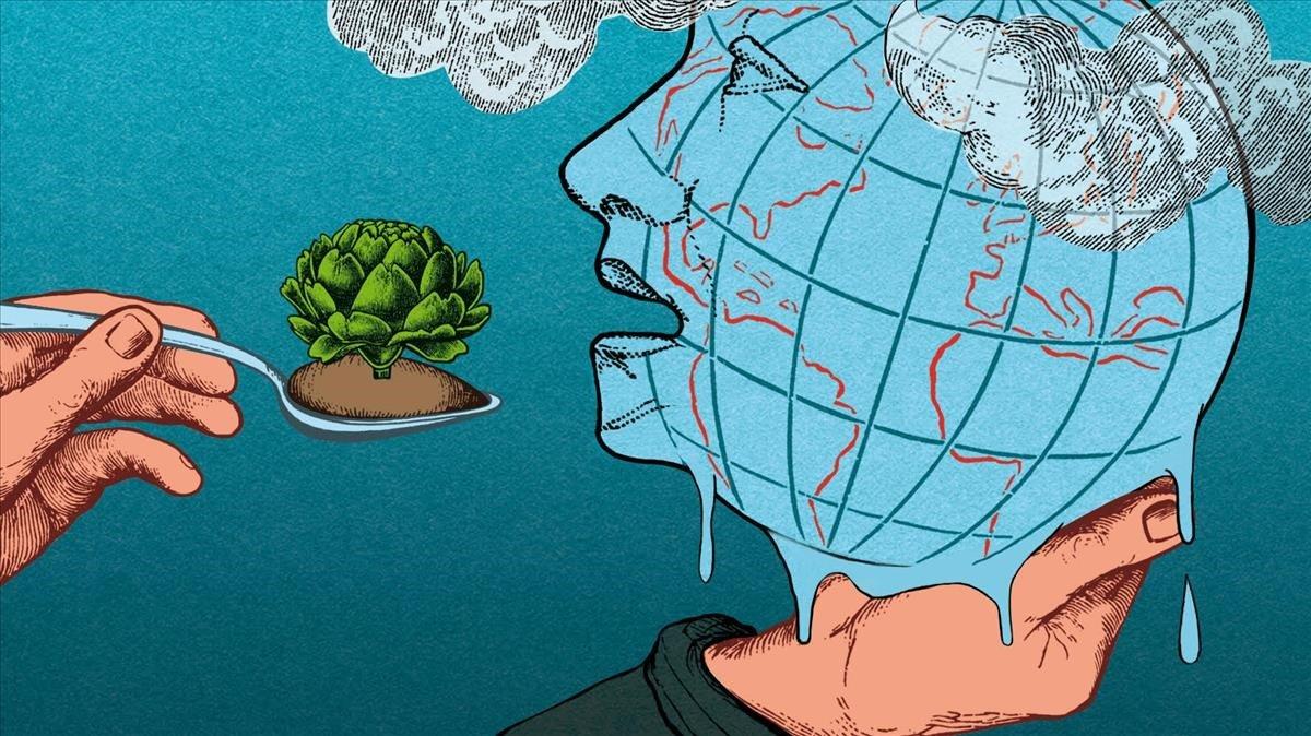 La sindemia global de obesidad, desnutrición y cambio climático
