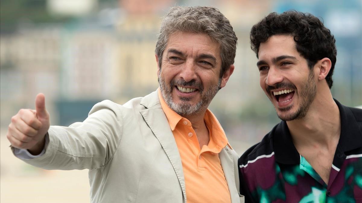 Ricardo y Chino Darín, juntos por primera vez