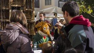 Geronimo Stilton, en la edición del año pasado del Sant Jordi de Nadal.
